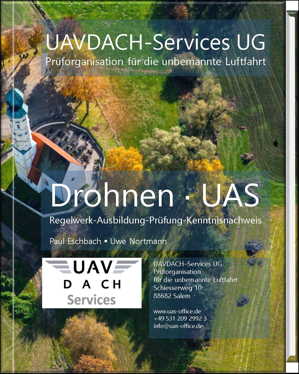 Buch Cover Drohnen UAS