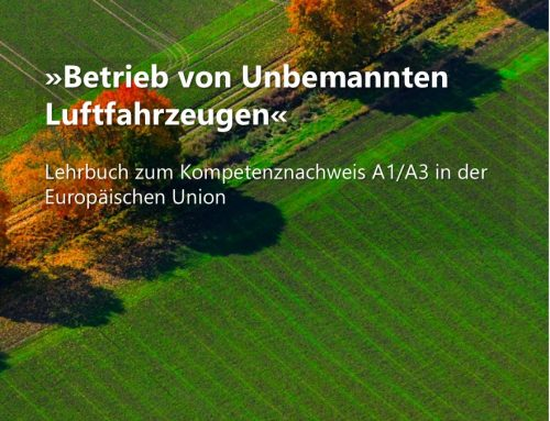NEU! Lehrbuch zum Kompetenznachweis A1/A3 im UAV DACH e.V. erschienen