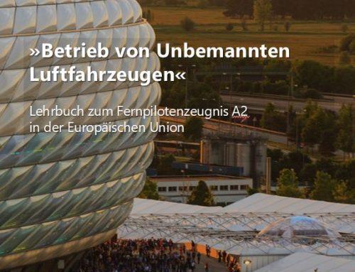 NEU! Lehrbuch zum Fernpilotenzeugnis A2 in der UAVDACH-Services UG erschienen