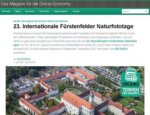 Naturfototage Fürstenfeldbruck bei München: DRONES MAGAZIN mit einem Vorbericht