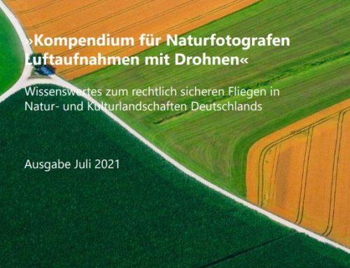 Luftaufnahmen mit Drohnen – ein Kompendium für Naturfotografen als neues Buch