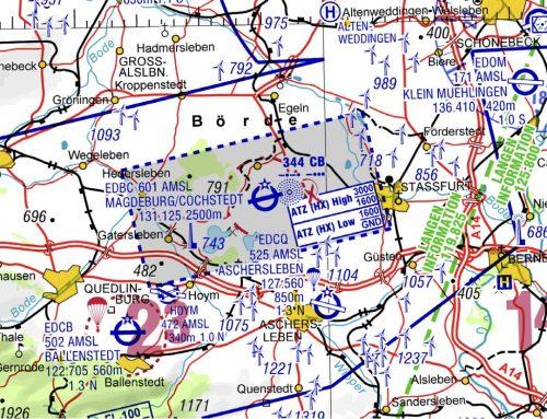Einrichtung ATZ (Aerodrome-Traffic-Zone) in Magdeburg Cochstedt (ab 9. September 2021)